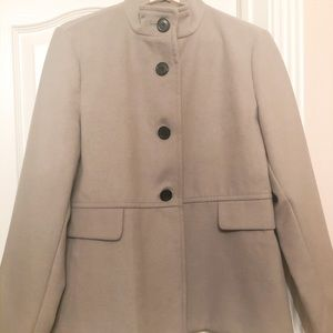 Women's Old Navy Gray Peacoat Size Large